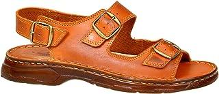 7880b450 Sandalias Cómodas Ortopédica Hombre Zapatos de Cuero Real Búfalo Modelo-816
