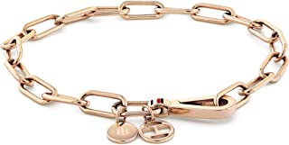 TOMMY HILFIGER WOMEN'S IONIC PLATED CARNATION GOLD STEEL BRACELETS -2780336