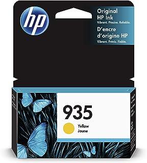 HP 935 C2P22AE, Cartucho Original de Tinta Amarillo, compatible con impresoras de inyección de tinta HP OfficeJet 6820; HP OfficeJet Pro 6230, 6830