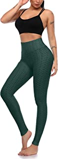 Butt Lift Anti Cellulite Sexy Leggings for Women High Waisted Yoga Pants Tummy Control Workout Running Tights