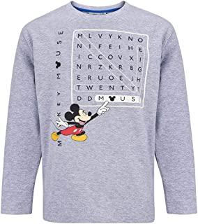 Disney Mickey Minnie Mouse Manches Longues T-shirt Taille 98-128 Chemise manches longues