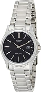Casio Womens Mechanical Watch, Analog Display and Stainless Steel Strap