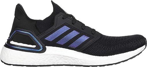 Core Black/Boost Blue Violet Metallic/Footwear White