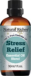 Natural Riches Stress Relief Essential Oil Blend Anxiety Essential Oil - Aromatherapy - Relaxing Soothing Calming Environm...