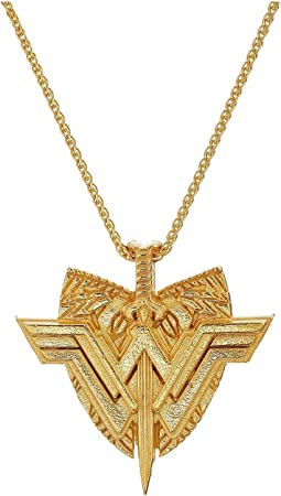 "Wonder Woman Shield 29"" Necklace"