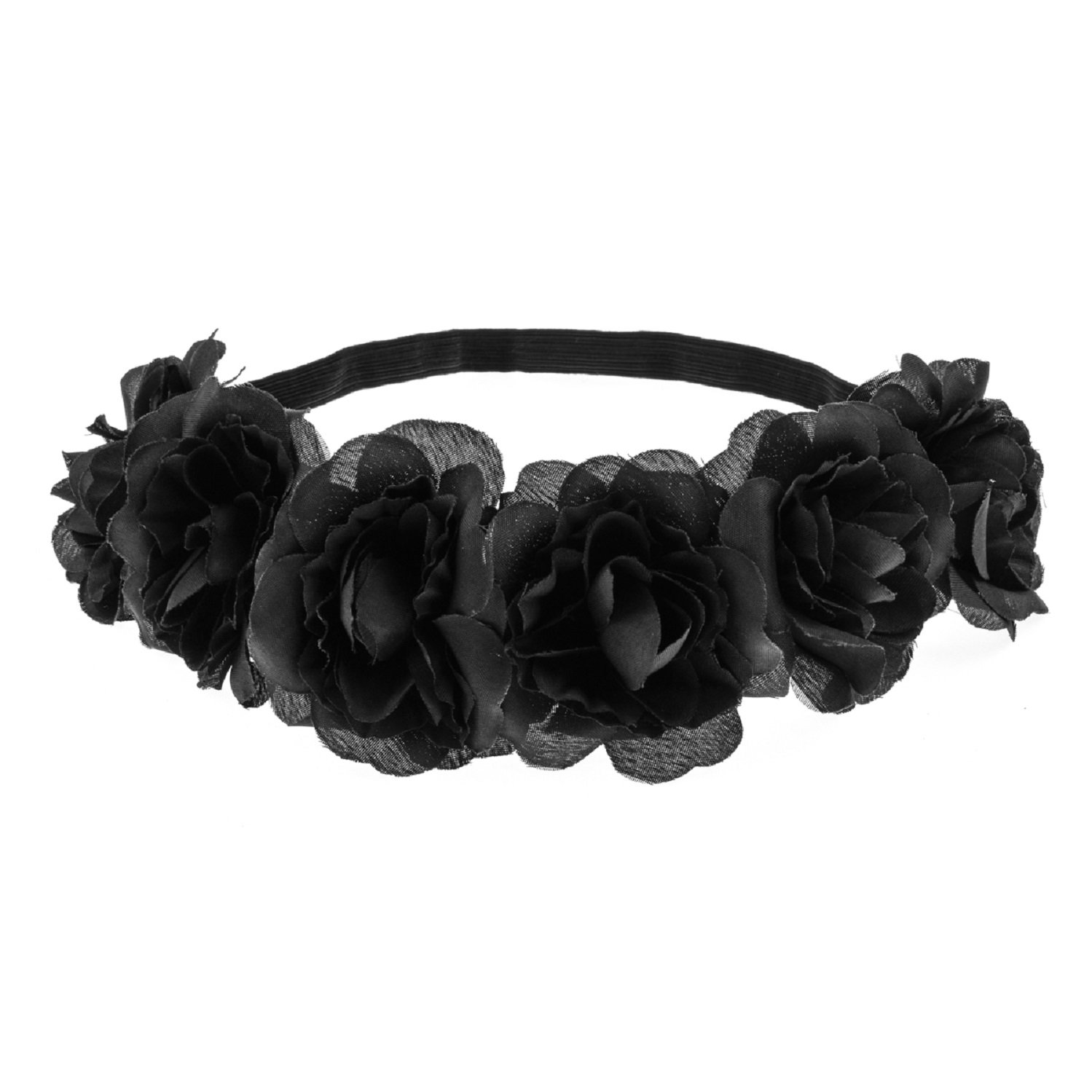 Love Sweety Rose Flower Headband Floral Crown Mexican Hair Wreat