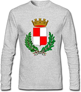 Men's Fashion CoA Città Di Caravaggio Long Sleeve T-Shirt