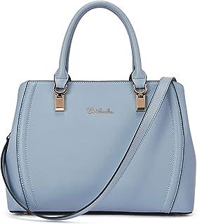 BOSTANTEN Damen Leder-Handtasche Designer-Taschen-Geldbeutel Top-Griff-Schulter Crossbody-Tasche