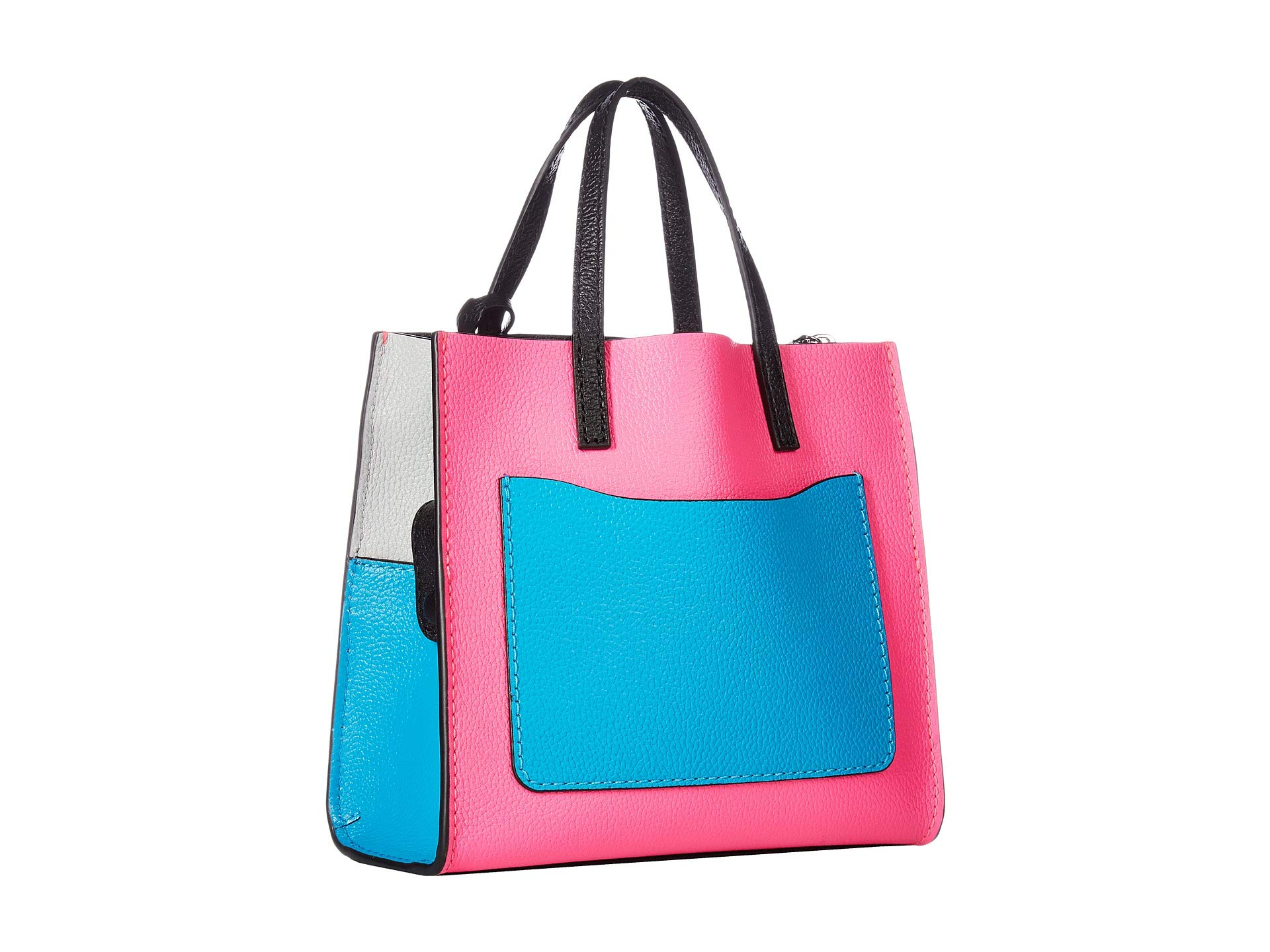 Mini Bright Marc Multi Jacobs Blocked Pink Grind Color 5xxgUXH