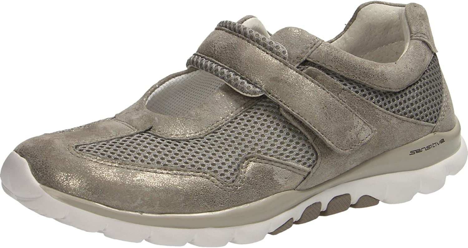 Gabor - Rolling Soft Taupe Mesh Caruso Metallic