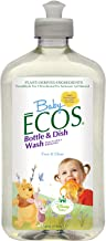 Earth Friendly Products Baby Ecos Bottle and Dish Wash Free and Clear Disney, 17 Ounce