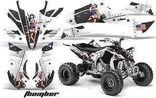 2009-2013 Yamaha YFZ450R & YFZ450X AMRRACING MX Graphics Decal Kit:T-Bomber-White