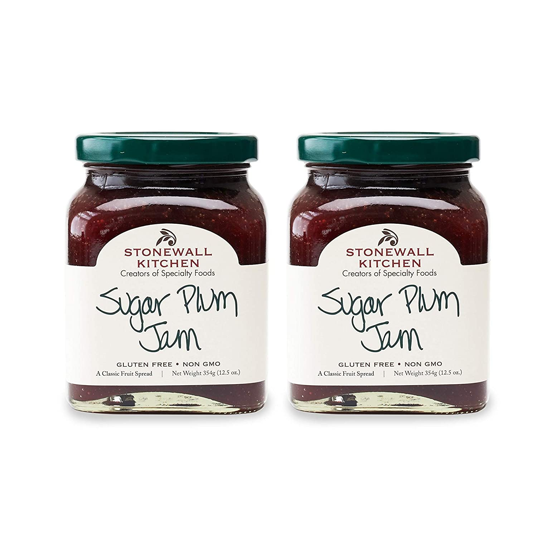 Stonewall Kitchen Sugar Plum Jam 12.5 40% OFF Cheap Sale Ranking TOP7 oz of Pack 2