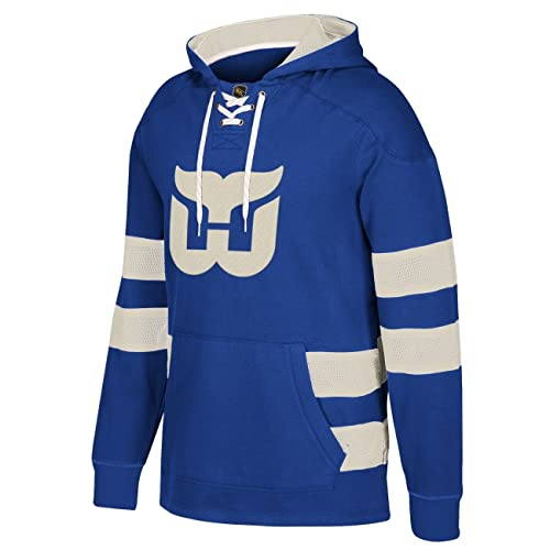 CCM Hartford Whalers Pullover Jersey Hoody 7364bd1ea76