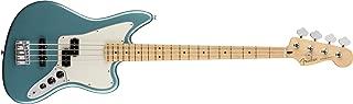 Fender Player Jaguar Electric Bass Guitar - Maple Fingerboard - Tidepool