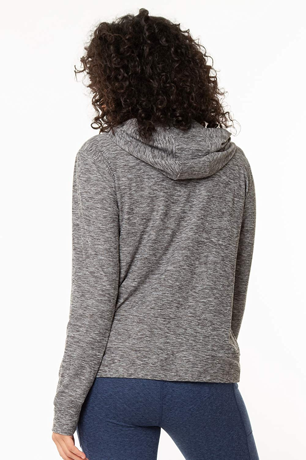 Womens Ultra Soft Long Sleeve Hoodie With Front Pockets