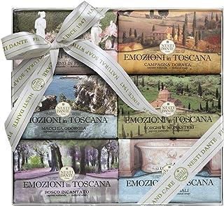 Nesti Dante Emozioni in Toscana Soap Set Zestaw mydeł toaletowych 6x150g