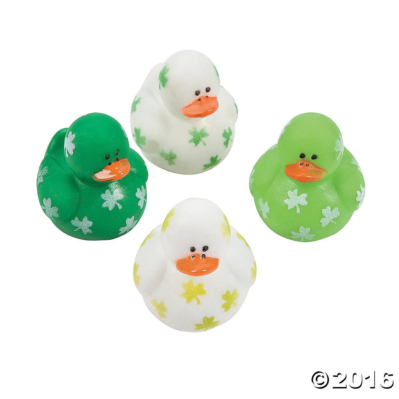 [OTC]OTC Two Dozen Mini Irish St. Patrick's Day Rubber Ducks LYSB0012H7K8K-TOYS [並行輸入品]