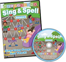 Sing & Spell Vol. 4 Animated DVD