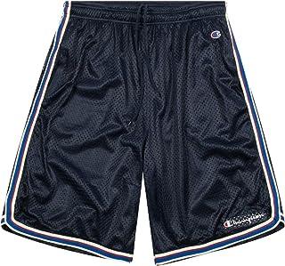 Champion Shorts, Big and Tall Shorts for Men, Classic Mesh Mens Shorts Navy