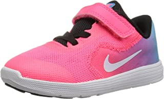 8e7a62f275 Nike Kids' Revolution 3 (TDV) Running Shoe, Chlorine Blue/White/