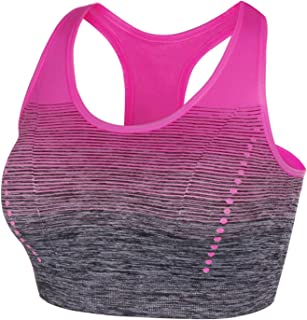 Aibrou Womens Yoga Sports Bra High Impact for Gym Pilates Dancing Jogging Workout