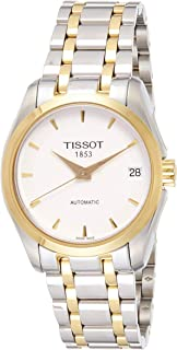 Tissot Women's White Stainless Steel Band Watch - T035.207.22.011.00