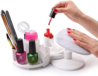 Makartt Nail Gel Polish Nail Design Base Studio Tool with Gel Holders and Multi Angle Rest, Great Support for Nail Salon H...