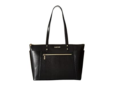 Kenneth Cole Reaction Downtown Darling Make A Mental Tote (Black) Tote Handbags