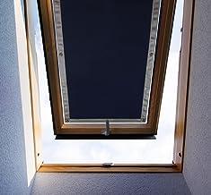PUROVI® Protección solar térmica para ventanas detecho | Protección térmica para interiores | sin taladrar y sin pegamento | gran selección para ventanas Velux + Roto | Tamaño seleccionado: VELUX 304 Y M04 - 60 x 73 cm