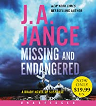 Missing and Endangered Low Price CD: A Brady Novel of Suspense