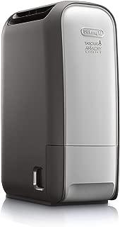 De'Longhi AriaDry Light DNS80 Deshumidificador, 20 l diarios, depósito 2.8 l, panel de control, pantalla LCD,  filtro antipolvo, función secado ropa, ligero, compacto y con asas