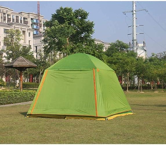 ZZPEO 300  300  210Cm Ultralarge De Camping 4-8 Personnes Tente De Camping étanche Abri du Soleil Grand Gazebo