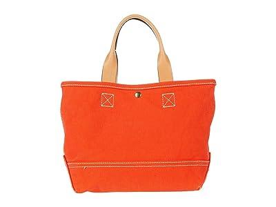 J.Crew Washed Canvas Mini Tote (Brilliant Sunset) Handbags