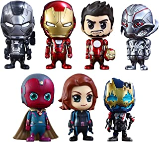 [ Kos Baby ' Avengers / Age of Urutoron ' series 2.0 [ size S] 7 body box set a height of about 10 cm plastic Painted Figure Set