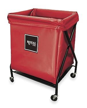 X-Frame Cart, 8 Bu, Red Vinyl