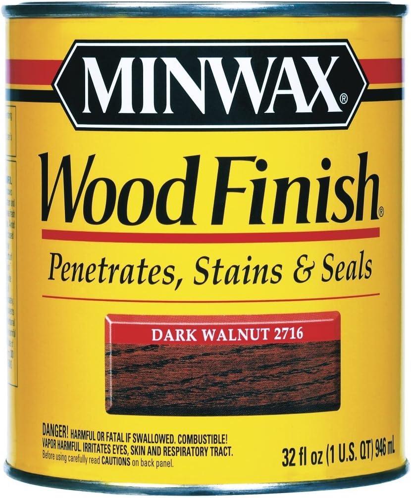Minwax Ranking integrated 1st place 70012 1 Quart Dark Wood Finish Super Special SALE held Interior Stain Walnut