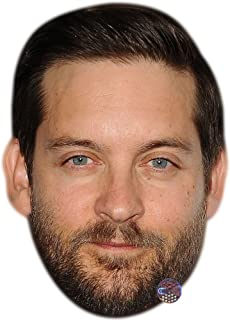Tobey Maguire Celebrity Mask, Card Face and Fancy Dress Mask