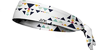 JUNK Brands Albuquerque Flex Tie Headband, White, One Size