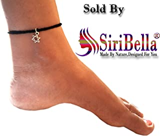 606911889e5eb Black Women's Anklets: Buy Black Women's Anklets online at best ...