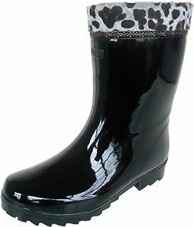 防寒長 防雪長 長靴 雨靴 アラル 冬用 作業長 防水 ウレタン 暖かい ボア 耐寒 雪中 ヒョウ柄 1色 メンズ