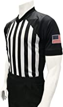 Smitty | USA216 | NCAA Approved Men's Basketball Collegiate Referee Short Sleeve Shirt | Made in USA | Elite Official's Choice!