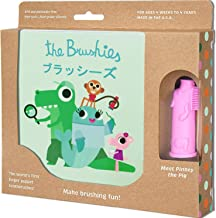 The Brushies - Baby and Toddler Toothbrush and Storybook - Pinkey The Pig!