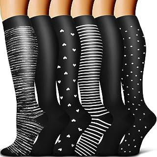 Best Copper Compression Socks Women & Men - Best for Running,Sports,Hiking,Flight Travel,Circulation Reviews