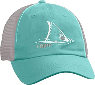 Fripp Outdoors Red Fish Structured Mesh Hat