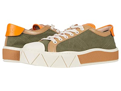Schutz Gizella (Aspen Green/Desert/Bright Tan) Women