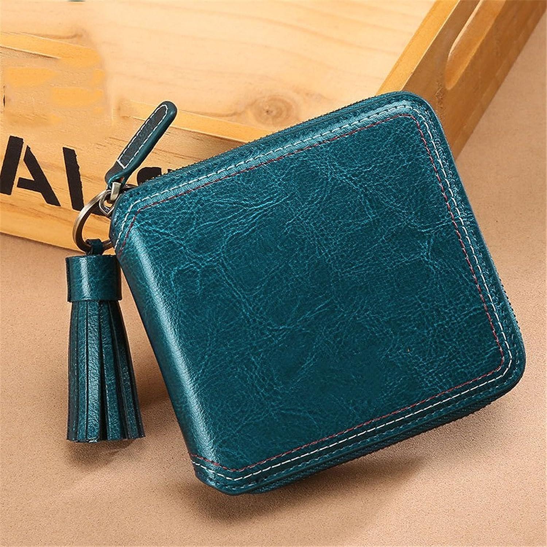 Chengzuoqing Chengzuoqing Chengzuoqing KurzerGeldbeutel der Frauen Frauen Fashion Short Wallet Geldbörse Kartenhalter Handtasche Kurze Brieftasche Clutch Handtasche (Farbe   Blau) B07KRTK2DB ffbe53