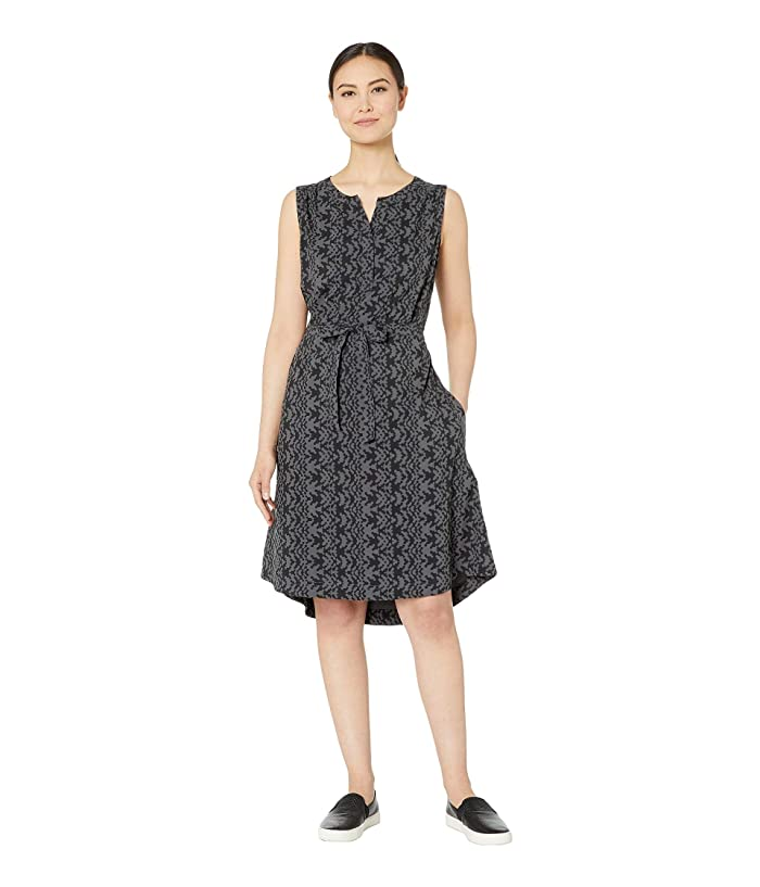 Royal Robbins Spotless Traveler Tank Dress (Asphalt Print) Women
