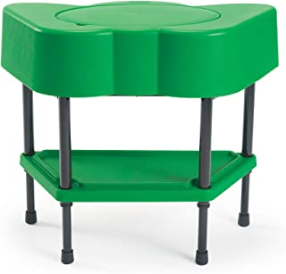 Children's Factory Angeles Toddler Sensory Table with Lid, Adjustable Height Sand & Water Indoor/Outdoor Play Equipment fo...