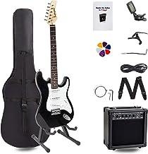 Display4top Kit de guitarra eléctrica Amplificador de 20 va